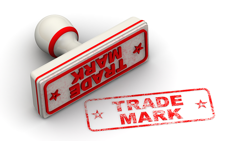 Trademark seal and imprint. Trademark registration in Australia concept.
